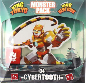 King of Tokyo - Monster Pack 04 - Cybertooth