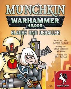 Munchkin Warhammer 40.000 - Glaube und Geballer