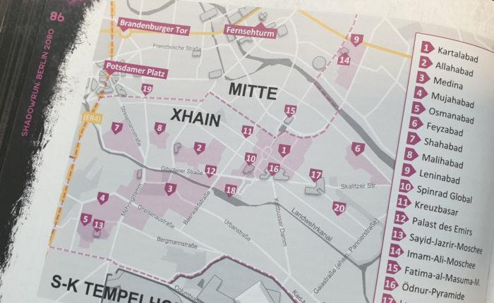 Hotspots in Berlin 2080