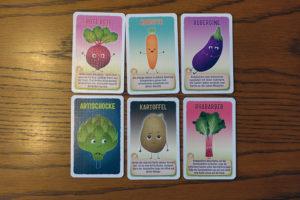 Ein Blick in die Gemüsekiste