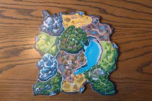Eine große Insel im Detail